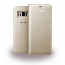 SAMSUNG Galaxy S8 Book Cover gold-1