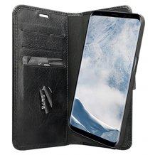 Samsung Galaxy S8 Læder Cover 2-i-1 dbramante1928 Lynge 2 Sort-1