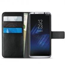 Samsung Galaxy S8+ Puro Milano Wallet flipcover med 3 Kreditkortlommer - -1
