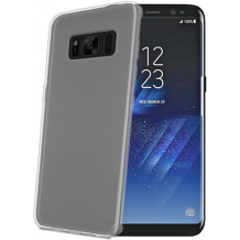 Samsung Galaxy S8 Silikone Cover fra Celly Clear-1