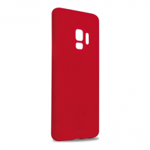 Samsung Galaxy S9, Icon Cover, Red-1