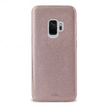 Samsung Galaxy S9+, Shine Cover, Rose Gold-1