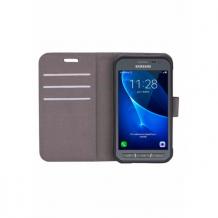 Samsung Galaxy Xcover 3 flipcover Redneck Prima Wallet Folio Hvid-1
