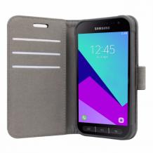 Samsung Galaxy Xcover 3 flipcover Redneck Prima Wallet Folio Sort-1