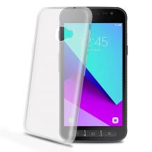 Samsung Galaxy Xcover 4 Celly Gelskin TPU Cover Gennemsigtig-1