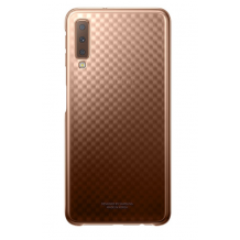 SAMSUNG GRADATION COVER (GALAXY A7 (2018) GOLD)-1