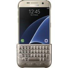 Samsung Keyboard Cover Samsung Galaxy S7 / G930F gold (Engelsk / UK)-1