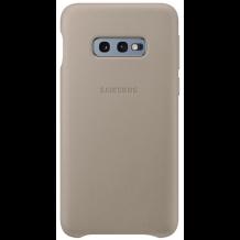 Samsung Læder Cover Til Samsung Galaxy S10e, Grå-1