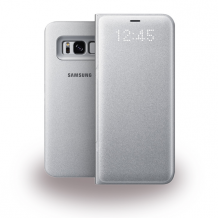 SAMSUNG LED View Cover S8 silver-1