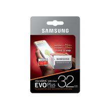 Samsung MEMORY MICRO SDXC EVO+ 32GB CLASS 10 W/USB-ADAPTER MB-MC32GA/EU-1