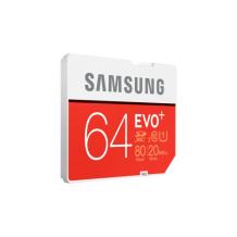 SAMSUNG SDXC EVO+ 64GB Class10 R90/W50 (Ikke til telefoner)-1