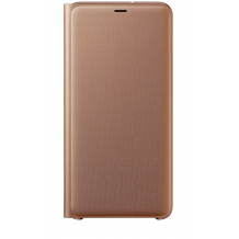 SAMSUNG WALLET COVER (GALAXY A7 (2018) GOLD)-1