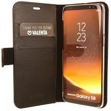 Valenta Booklet Classic Luxe til Samsung Galaxy S8 Sort