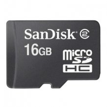 SANDISK MICROSD (16 GB CARD + SD ADAPTER)-1