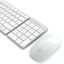 Satechi Slim Wireless Keypad - Rechargeable Aluminum Bluetooth Keypad-1