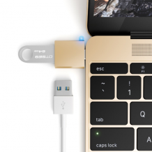 Satechi USB-C USB adapter - Turn your 12-inch Mac USB-C port to a USB 3.0 port!-1