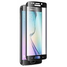 Sikkerhedsglas Full Fit Sort til Samsung Galaxy S6 Edge