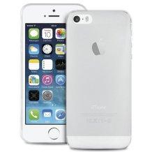 Silikone cover til Apple iPhone 5/5S/SE, Puro Ultra Slim 0.3, Gennemsigtig-1