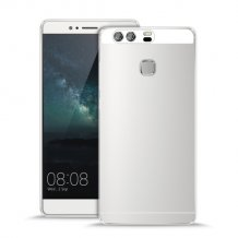 Silikone cover til Huawei P9, Puro Ultra Slim 0.3, Gennemsigtig-1
