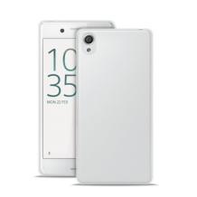 Silikone cover til Sony Xperia X, Puro Ultra Slim 0.3, Gennemsigtig-1