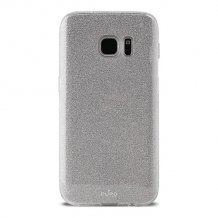Smg Galaxy S8+, Shine cover, sølv-1