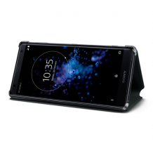 Sony Style Cover Stand til Sony Xperia XA2 Ultra - Sort-1
