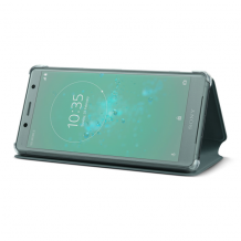 Sony Style Cover Stand til Sony Xperia XZ2 Compact - Grøn-1