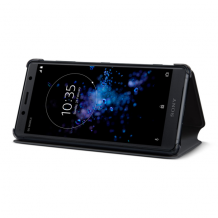 Sony Style Cover Stand til Sony Xperia XZ2 Compact - Sort-1