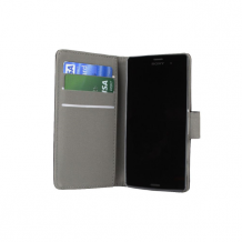 Sony Xperia Z5 Compact flipcover Redneck Prima Wallet Folio Sort-1