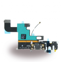 Spare Part Apple - System Connector + Audio Flex Cable - iPhone 6 - White-1