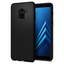 Spigen Liquid Air cover til Samsung Galaxy A8 (2018) - Sort-1