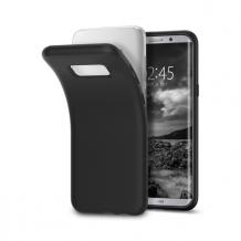 Spigen Liquid Crystal for Galaxy S8 matt black-1