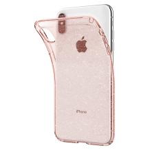 Spigen Liquid Crystal Glitter for iPhone XS Max rose quartz-1