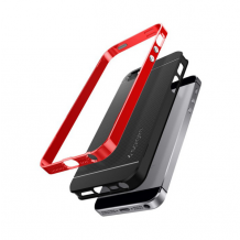 Spigen Neo Hybrid for iPhone 5/5S/SE dante red-1