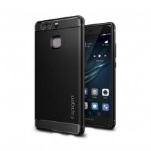 Spigen Rugged Armor cover til Huawei P9 - Sort-1