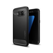 Spigen Rugged Armor cover til Samsung Galaxy S7 Edge - Sort-1