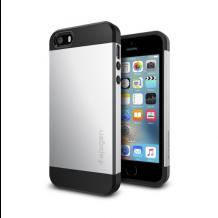 Spigen Slim Armor cover til Apple iPhone 5/5S/SE - Sølv-1