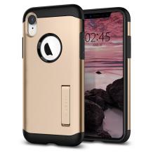 Spigen Slim Armor cover til Apple iPhone XR - Guld-1