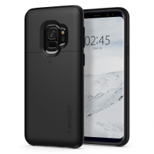 Spigen Slim Armor CS cover til Samsung Galaxy S9 - Sort-1