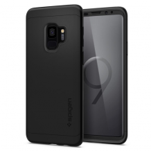 Spigen Thin Fit 360 (Glass Screen Protector) for Galaxy S9 black-1