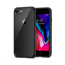 Spigen Ultra Hybrid 2 cover til iPhone 7/8 sort-1