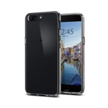Spigen Ultra Hybrid Cover til OnePlus 5 - Gennemsigtig-1