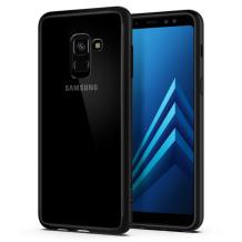Spigen Ultra Hybrid Cover til Samsung Galaxy A8 (2018) - Sort-1