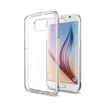 Spigen Ultra Hybrid Cover til Samsung Galaxy S6 - Gennemsigtig-1