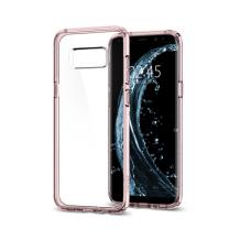 Spigen Ultra Hybrid Cover til Samsung Galaxy S8+ - Pink / lyserød-1