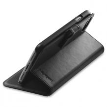 Spigen Wallet S cover til iPhone 7 sort-1
