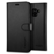 Spigen Wallet S for Galaxy A8 (2018) black-1