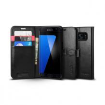 Spigen Wallet S for Galaxy S7 Edge black-1