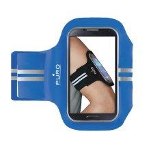 """Puro Sport Universal Armbånd til smartphones op til 5.1"""" - Blå"""