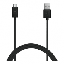 Sync/Charge kabel, USB - MicroUSB, 1m, sort-1